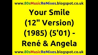 "Your Smile (12"" Version) - René & Angela"