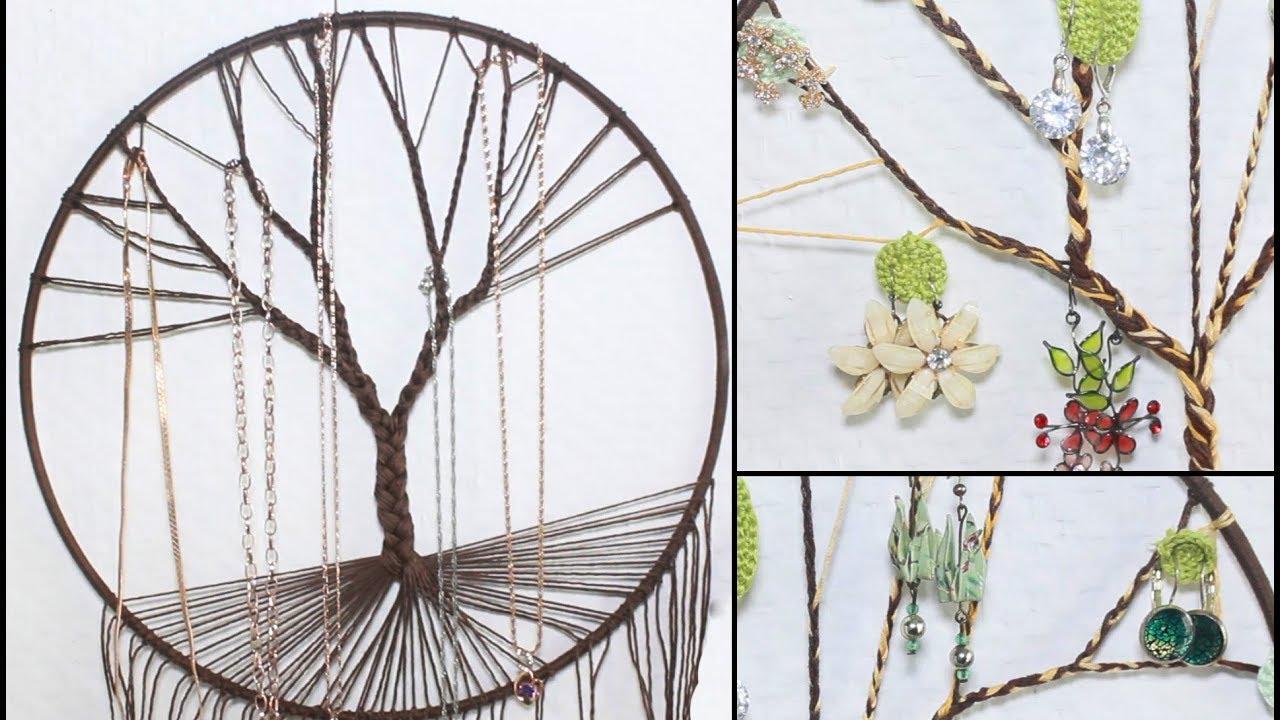 tuto arbre de vie porte bijoux boucle d 39 oreilles et. Black Bedroom Furniture Sets. Home Design Ideas