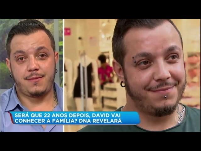 Após reportagem da Record TV, David encontra família biológica no Brasil