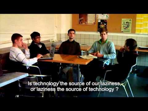 Groupe 11, Do you think technology make us lazy ?