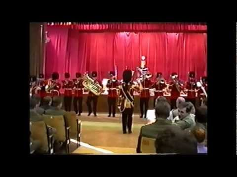 Joint concert of English and Russian military bands in the Russian Infantry Berlin Brigade.