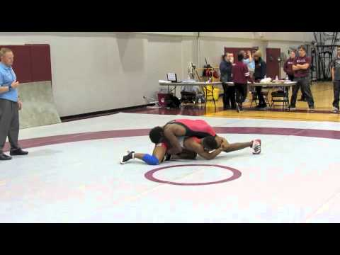 2012 McMaster Invitational: 72 kg Final Kyle Rose vs. Cruiz Manning