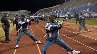 Jackson State University Marching Band - Exiting the 2015 Boombox Classic