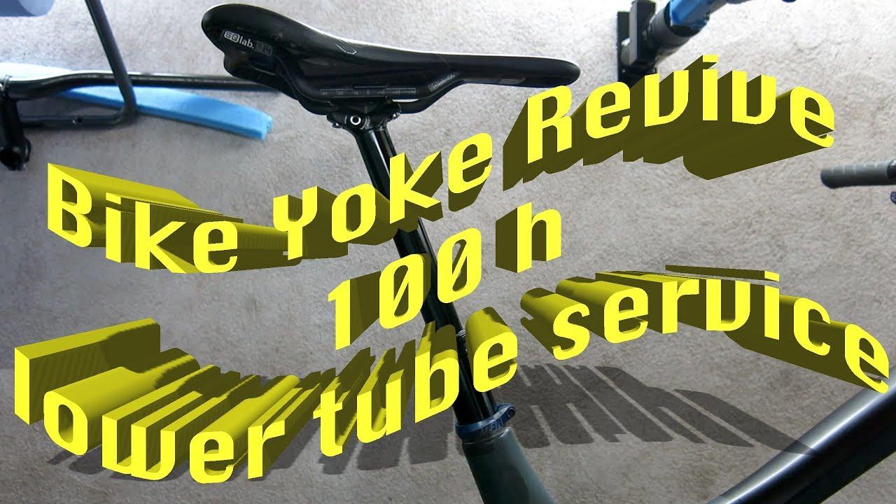 Bikeyoke Revive 100hr Lower Tube Service Deutsch Youtube