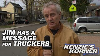 Kenzies Korner: Jim Has a Message for Truckers