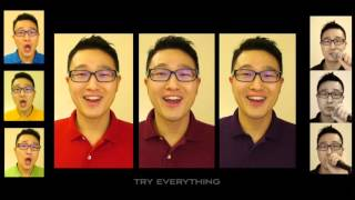 """Try Everything - """"Zootopia"""" [A Cappella cover] with lyrics"""