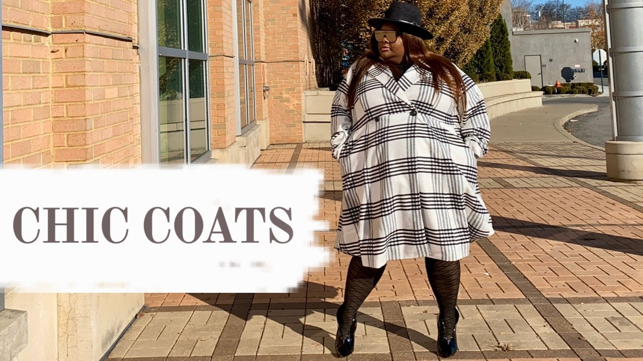 [VIDEO] - COAT HAUL COAT LOOKBOOK Chic Coats Ashley Stewart Torrid Fashion Nova Plus Size Coats Winter Coats🧥 1