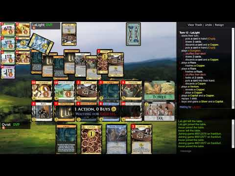 Streaming Dominion 030 vs. Lalight: Nocturne Previews 3 Crypt+Capital :O