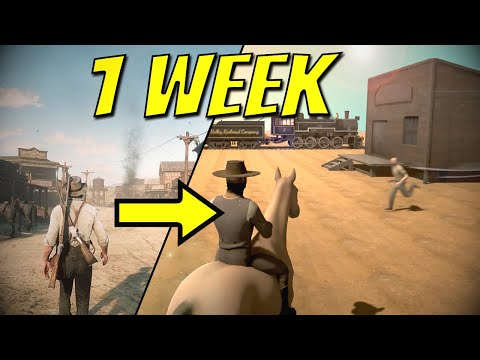We Made Red Dead Redemption in a Week