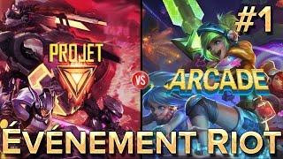 Arcade VS Project #1 : Événement Riot