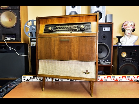 What's inside? NORDMENDE CARUSO STEREO - Dual 1007, W.Germany 1960-1962