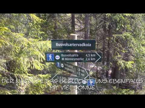 7 Tage Trekking in Norwegen Juni 2015 Oppland/Hedmark