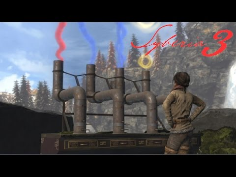 Syberia 3 Walkthrough Part 6: Stadium Pool Lights & Smoke Signals Ending