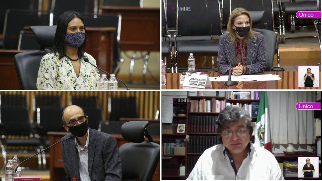 Asumen cargos 4 nuevos consejeros del INE, hablan de su experiencia electoral y social