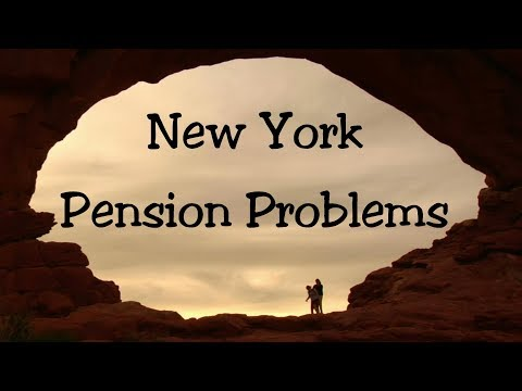 Warning! Pension Plans Are Running Out Of Money, New York, New Jersey & Central States