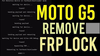 Motorola frp remove free