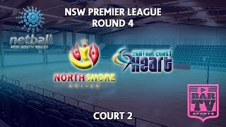 2018 Samsung Premier League Round 4 - U20s/Opens - Court 2 - North Shore United v  Heart thumbnail