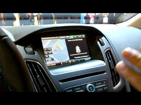 mwc 14 ford sync 2 demonstration english youtube. Black Bedroom Furniture Sets. Home Design Ideas