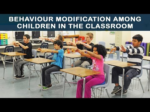 Behaviour modification among children in the classroom