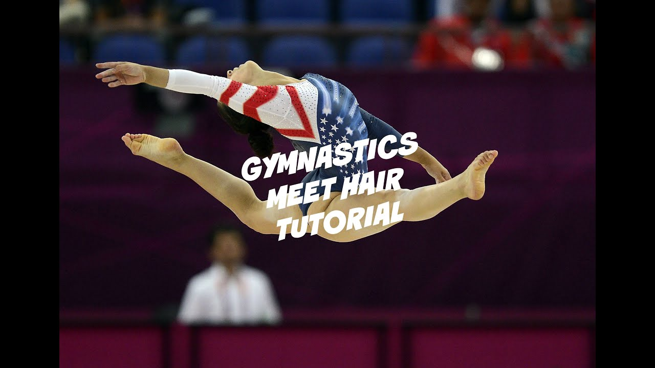 and gymnastics meet hair