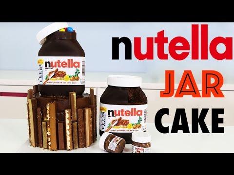 chocolate nutella cake how to make an insane chocolate nutella jar