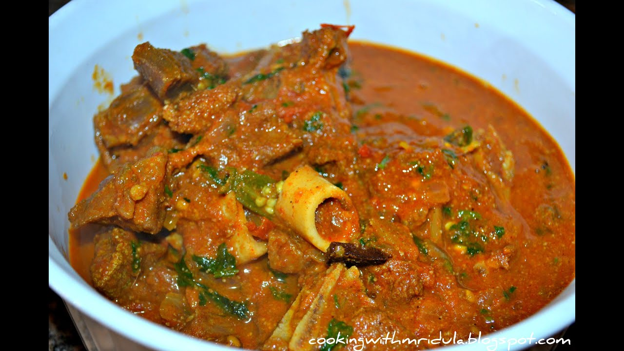 Andhra mutton curry mutton pulusu w english subtitiles youtube forumfinder Choice Image