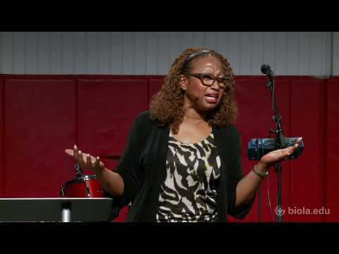 Brenda Salter McNeil: Journey to Reconciliation and Racial Healing - Biola University Chapel