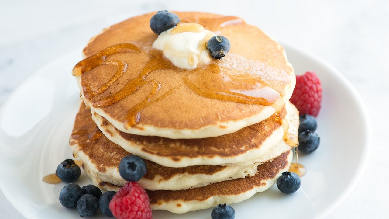 Easy fluffy pancakes recipe from scratch ccuart Choice Image