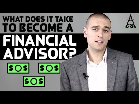 What Does It Take To Become a Financial Advisor | Common Sense Investing with Ben Felix