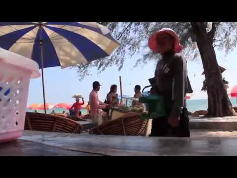 Observations on a Cambodian Tourist Beach