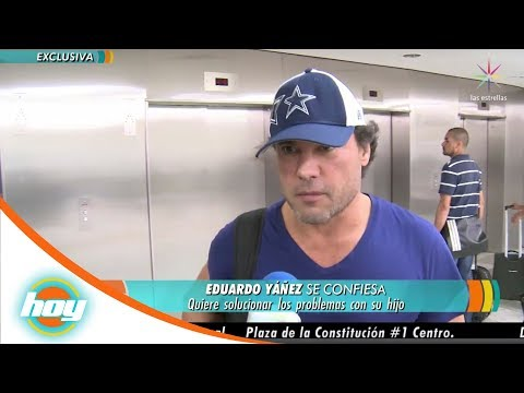 Eduardo Yañez reaparece en México | Hoy