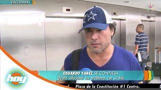 Eduardo Yañez reaparece en México   Hoy