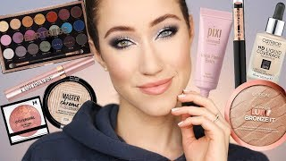 Winter Glam Using Drugstore Makeup ❄️