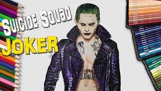 Dibujando El Joker - Jared Leto en Suicide Squad