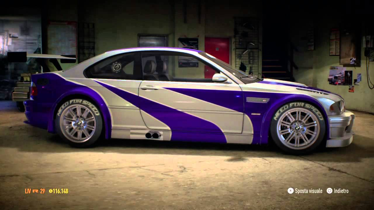 BMW Convertible 2005 bmw m3 gtr Need for Speed 2015 Most Wanted Bmw M3 Gtr Customization - YouTube