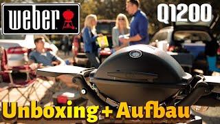 Info Video / Unboxing Weber Gasgrill Q1200