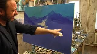 Igor Sakharov artist , video tutorial painting drawing lesson