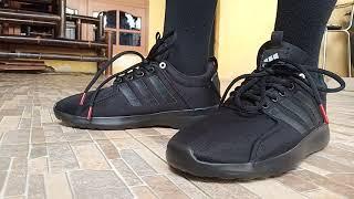 Sepatu Adidas Cloudfoam Lite Racer Premium Original Running Sport Pria Dewasa Termurah