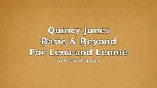 For Lena and Lennie(Transcription)