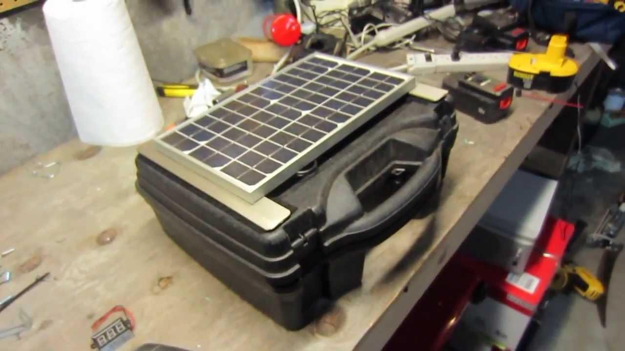 PORTABLE Solar Generator For $150