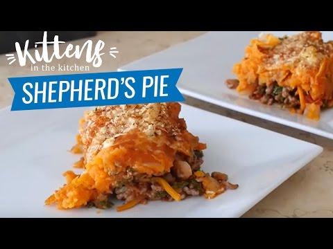 Ashys Healthy Shepherd's Pie Recipe | Kittens Kitchen
