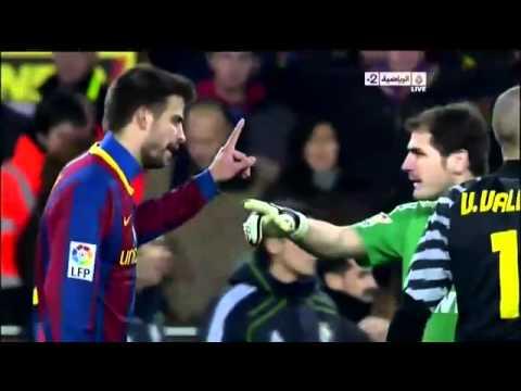 Sergio Ramos vs Carles Puyol K.O  -