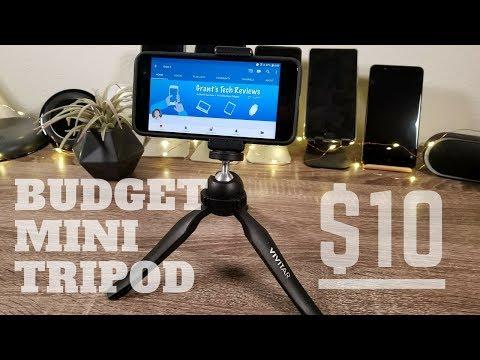 Best Budget Mini Tripod // $10 Manfrotto PIXI Alternative