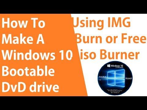 make iso of windows 10 dvd