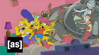 Video Simpsons Couch Gag | Rick and Morty | Adult Swim download MP3, 3GP, MP4, WEBM, AVI, FLV September 2018