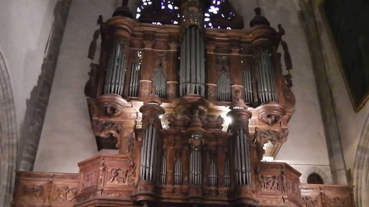 orgue de la cath 233 drale notre dame et saint privat de mende youtube