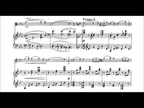 Aleksandr Glazunov - Elegie for viola and piano Op. 44 (GSARCI VIDEO REVIVAL)