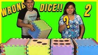 DON'T CHOOSE THE WRONG DICE CHALLENEGE! Just Ameerah Paul