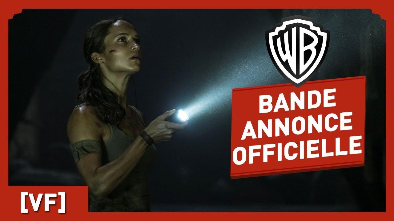 Tomb Raider - Bande Annonce Officielle 2 (VF) - Alicia Vikander