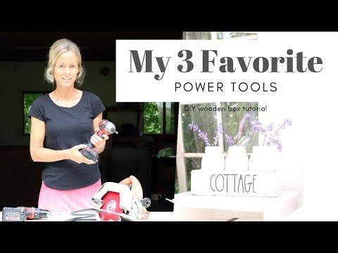 Best Power Tools ~ Tool Review ~ Favorite Tools ~ DIY Wood Project